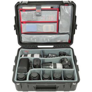 iSeries 2217-8 Estuche con divisores diseñados por Think Tank y organizador de tapa