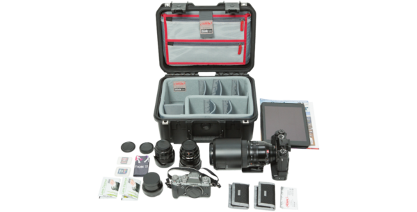 iSeries 1309-6 Estuche con divisores de fotos y organizador de tapa diseñados por Think Tank