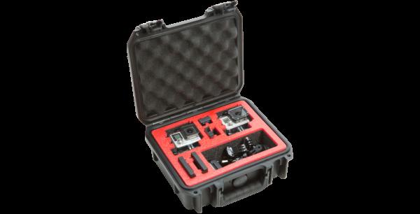 iSeries 0907-4 Estuche impermeable para cámara doble GoPro