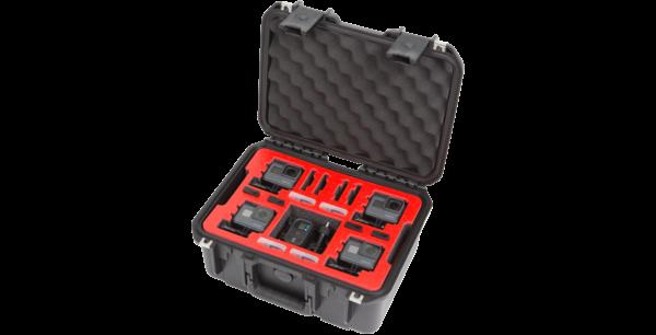 iSeries 1309-6 Funda impermeable GoPro de doble capa y cuatro capas