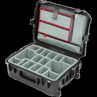 iSeries 2215-8 Estuche con divisores diseñados por Think Tank y organizador de tapa