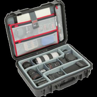 iSeries 1813-5 Estuche con divisores diseñados por Think Tank y organizador de tapa