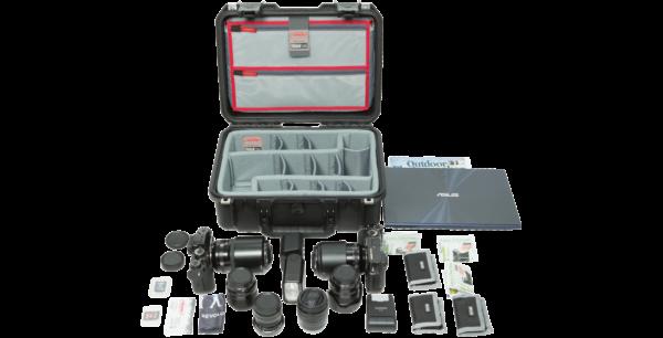 iSeries 1510-6 Estuche con divisores de fotos y organizador de tapa diseñados por Think Tank